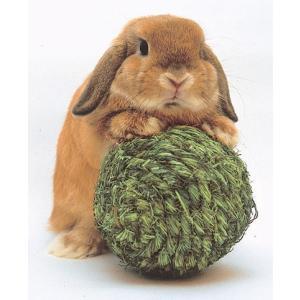 KAWAI わらっこ倶楽部 リンリンボール 送料無料 うさぎ モルモット おもちゃ i-rabbit