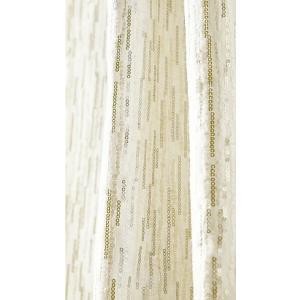 サンゲツ オーダーカーテン AC5001 巾100×丈201〜220cm(2枚入) SS縫製仕様 約2倍 3つ山ヒダ i-read 02