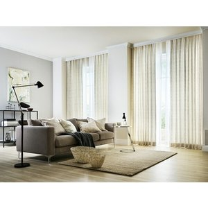 サンゲツ オーダーカーテン AC5001 巾150×丈121〜140cm(2枚入) SS縫製仕様 約2倍 3つ山ヒダ|i-read