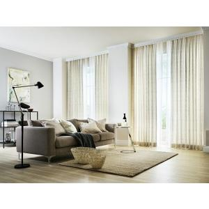 サンゲツ オーダーカーテン AC5001 巾150×丈141〜160cm(2枚入) SS縫製仕様 約2倍 3つ山ヒダ|i-read