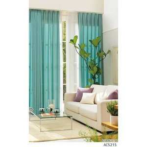 サンゲツ オーダーカーテン AC5214〜AC5219 巾150×丈161〜180cm(2枚入) L...