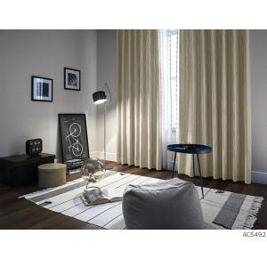 サンゲツ オーダー遮光カーテン AC5492〜AC5493 巾150×丈101〜120cm(2枚入)...