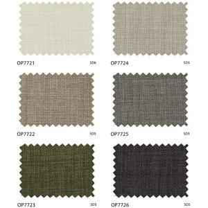 サンゲツ シンプルオーダーカーテン OP7721〜OP7726 巾150×丈121〜140cm(2枚入) LP縫製仕様 約1.5倍 2つ山ヒダ 形態安定加工付 i-read 02