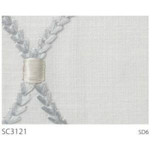 サンゲツ インド製カーテン SC3121〜SC3122 巾150×丈161〜180cm(2枚入) SS縫製仕様 約2倍 3つ山ヒダ|i-read|03