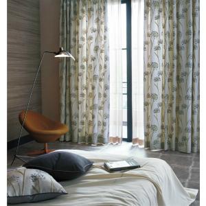 サンゲツ インド製和モダンカーテン SC3173 巾150×丈161〜180cm(2枚入) LP縫製...