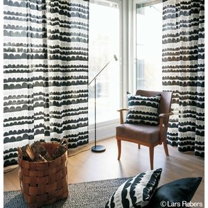 サンゲツ(ヨハンナ・ヘグヴェグ/フィンランド)北欧デザイナーズカーテン SC3284〜SC3286 巾100×丈141〜160cm(2枚入) SS仕様 約1.5倍 2つ山ヒダ|i-read