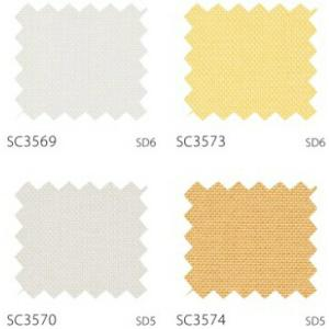 サンゲツ カーテン SC3569〜SC3590 巾150×丈121〜140cm(2枚入) LP縫製仕様 約2倍 3つ山ヒダ 形態安定加工付|i-read|02