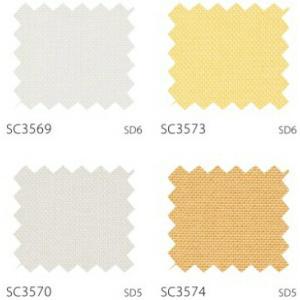 サンゲツ カーテン SC3569〜SC3590 巾150×丈161〜180cm(2枚入) LP縫製仕様 約2倍 3つ山ヒダ 形態安定加工付|i-read|02