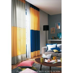 ◆カーテン生地の組み合わせについて、A・B・Cの品番(SC3569〜SC3590)とカーテンサイズ等...