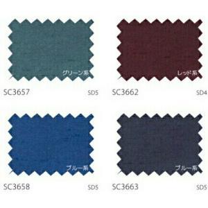 サンゲツ カーテン SC3639〜SC3663 巾150×丈81〜100cm(2枚入) LP縫製仕様 約2倍 3つ山ヒダ 形態安定加工付|i-read|05