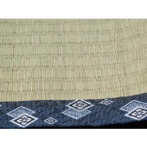 上敷き い草カーペット 10畳 糸引織 日本製 竹クラス 「岩木(いわき)」 江戸間 10畳(約440×352cm) いぐさ ござ 井草 ゴザ|i-s