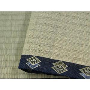上敷き い草カーペット 2畳 糸引織 松クラス 「谷川(たにがわ)」 六一間 2畳(約185×185cm) いぐさ ござ 井草 ゴザ i-s