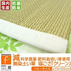 い草シーツ 寝ござ 福岡県認証い草 「クリーン」 ベビー 70×120cm 日本製 日本製 い草 寝ゴザ 減農薬 ベビーマット 子供 子ども|i-s