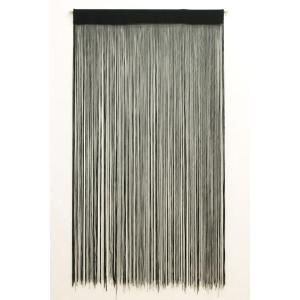 ひものれん 紐のれん インド綿 「ストリング」 約85×150cm|i-s