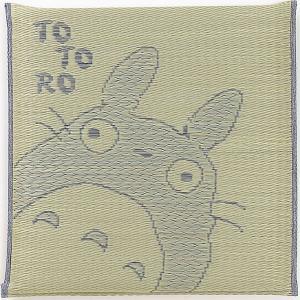 クーポン対象 い草座布団 となりのトトロ 「であい」 55×55cm 日本製 細縁千鳥座布団 い草 イ草 いぐさ 自然素材 座布団 ざぶとん ザブトン 夏 和座布団 i-s