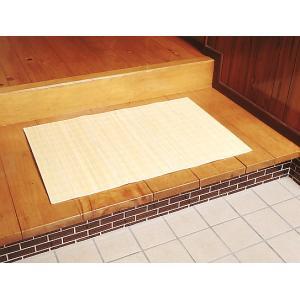 籐マット 「バリ」 45×150cm(約0.4畳) 夏 ひんやり 涼感 アジアン 籐 トウ とう 敷物 マット|i-s