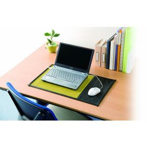 い草 PC用マット 「パソコンマット」 30×50cm 日本製 パソコン マット 卓上 机マット|i-s