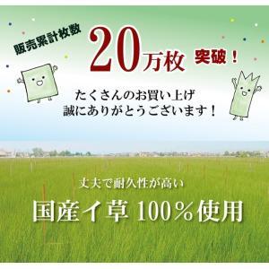 置き畳 日本製 い草 ユニット畳 あぐら 82×82cm 半畳 正方形 6枚 約2.6畳 フローリング リビング 畳 たたみ タタミ 軽量 つなげる|i-s|02