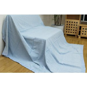 マルチカバー インド綿 「プラージュ」 120×150cm ソファカバー ソファーカバー ラグカーペットカバー ラグカバー ベッドカバー こたつ布団カバー|i-s