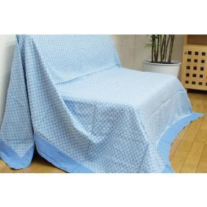 マルチカバー インド綿 「リンクル」 190×250cm ソファカバー ソファーカバー ラグカーペットカバー ラグカバー ベッドカバー|i-s
