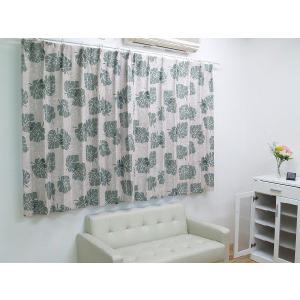 カーテン 2枚組 形状記憶 遮光 厚地 プリント 「ピサ」 幅100×高さ178/200cmから選択可|i-s