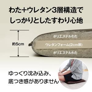 クッション 座布団 シートクッション 43×43 PVCソフトレザークッション 合皮クッション 飲食店 業務用 グレイス|i-s|05