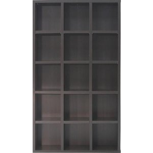 DVDラック 本棚 収納ラック 収納棚 5段幅広(DVD CD 雑誌など) 「レガール」 fbc ブックシェルフ 棚 シェルフ ラック|i-s