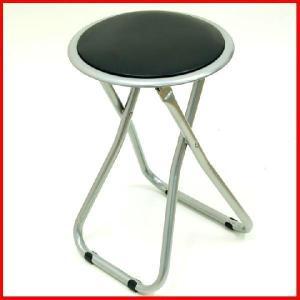 パイプ折りたたみイス FB-02BK パイプ椅子 丸イス パイプ丸イス 会議椅子 チェア 折りたたみ 椅子 折り畳み 折畳 折りたたみ椅子 いす|i-s