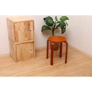 丸椅子 6脚セット 木製 おしゃれ 曲脚イス 円形 丸いす 「21S6」 椅子 イス チェア スツール 腰掛け スタッキング 木 曲げ脚 (tm)|i-s|12