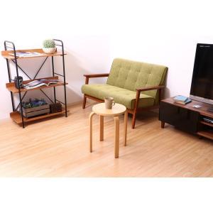 丸椅子 6脚セット 木製 おしゃれ 曲脚イス 円形 丸いす 「21S6」 椅子 イス チェア スツール 腰掛け スタッキング 木 曲げ脚 (tm)|i-s|13
