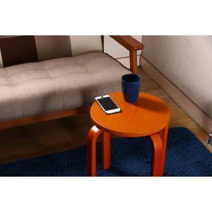 丸椅子 6脚セット 木製 おしゃれ 曲脚イス 円形 丸いす 「21S6」 椅子 イス チェア スツール 腰掛け スタッキング 木 曲げ脚 (tm)|i-s|14