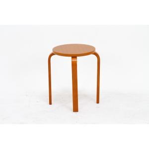 丸椅子 6脚セット 木製 おしゃれ 曲脚イス 円形 丸いす 「21S6」 椅子 イス チェア スツール 腰掛け スタッキング 木 曲げ脚 (tm)|i-s|18