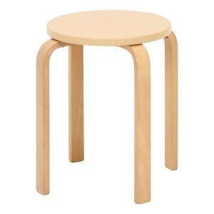 丸椅子 6脚セット 木製 おしゃれ 曲脚イス 円形 丸いす 「21S6」 椅子 イス チェア スツール 腰掛け スタッキング 木 曲げ脚 (tm)|i-s|06