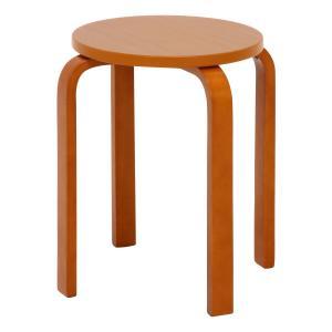 丸椅子 6脚セット 木製 おしゃれ 曲脚イス 円形 丸いす 「21S6」 椅子 イス チェア スツール 腰掛け スタッキング 木 曲げ脚 (tm)|i-s|07