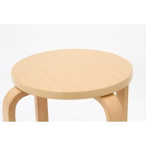 丸椅子 6脚セット 木製 おしゃれ 曲脚イス 円形 丸いす 「21S6」 椅子 イス チェア スツール 腰掛け スタッキング 木 曲げ脚 (tm)|i-s|08
