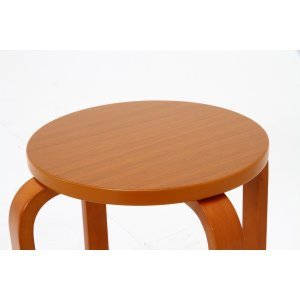 丸椅子 6脚セット 木製 おしゃれ 曲脚イス 円形 丸いす 「21S6」 椅子 イス チェア スツール 腰掛け スタッキング 木 曲げ脚 (tm)|i-s|09