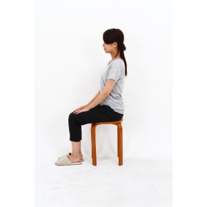 丸椅子 6脚セット 木製 おしゃれ 曲脚イス 円形 丸いす 「21S6」 椅子 イス チェア スツール 腰掛け スタッキング 木 曲げ脚 (tm)|i-s|10