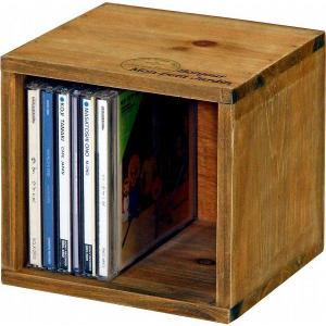 クーポン対象 小物入れ CD・DVDボックス 木製 mokuシリーズ アンティーク雑貨 小物 収納 ダメージ加工 ラック フレンチカントリー風|i-s