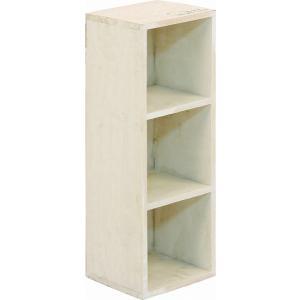 クーポン対象 小物入れ 収納ボックス 3段ボックス 木製 mokuシリーズ アンティーク雑貨 小物 収納 ダメージ加工 ラック フレンチカントリー風|i-s