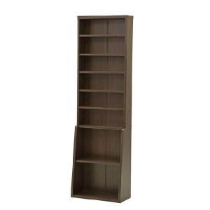 書棚 本棚 薄型書棚 60cm幅 fbc シンプル 書斎 書籍 収納 薄型 スリム i-s