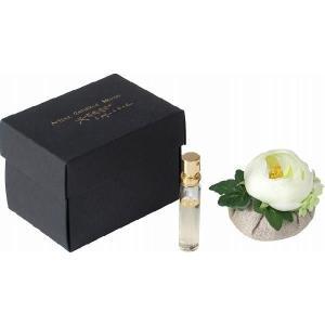 サシェ 匂い袋 マッソンフラワーサシェ 巾着ミニ(ホワイトローズ) 高級フランス製 フラワー 香り マッソン ルームフレグランス におい袋 アロマ ギフト|i-s