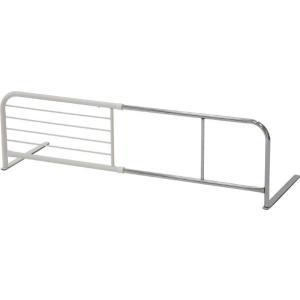 ベッドガード 横伸縮 スライド ベッドフェンス シンプル 柵 転落防止 布団落下防止 サイドガード パイプ スライド式 BG-831|i-s