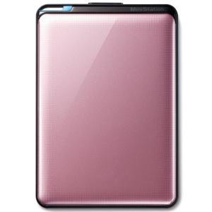 BUFFALO HD-PNT1.0U3-PC ターボPC EX2 USB3.0 ポータブルHDD 1TB ローズ|i-selection