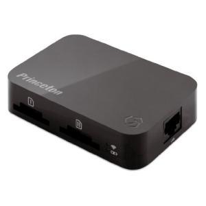 プリンストン PTW-TSTP ワイヤレスモバイルストレージ Toaster Pro ブラック|i-selection