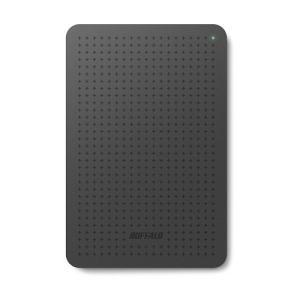 BUFFALO HD-PCF1.0U3-BBC ミニステーション ターボPC EX2 Plus対応 USB3.0ポータブルHDD 1TB ブラック