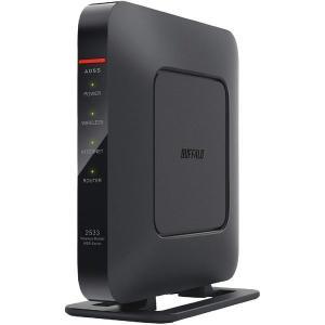 BUFFALO WiFi 無線LAN ルーター WSR-2533DHPL 11ac ac2600 1733+800Mbps デュアルバンド 4LDK 3階建向け|i-selection
