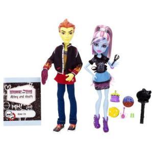 モンスターハイ 人形 ドール フィギュア アビー・ボミナブル ヒース バーンズ Monster High Home Ick Abbey Bominable & Heath Burns 2-Pack i-selection