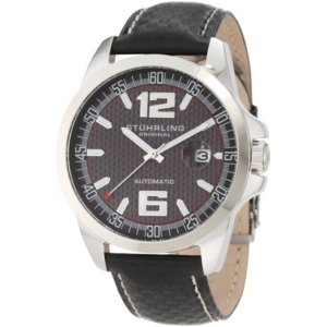 ストゥーリング オリジナル Stuhrling Original メンズ 腕時計 時計 Stuhrling Original Men's 175.33151 Octane Concorso Automatic Date Black Watch|i-selection