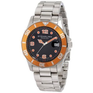 ストゥーリング オリジナル Stuhrling Original メンズ 腕時計 時計 Stuhrling Original Men's 158.331157 Nautical Regatta Clipper Quartz Date Diver|i-selection