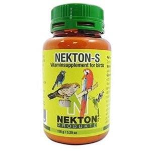 ネクトンSは、鳥類にとって必要不可欠な13種類のビタミン類、18種のアミノ酸、そして多くのミネラルと...